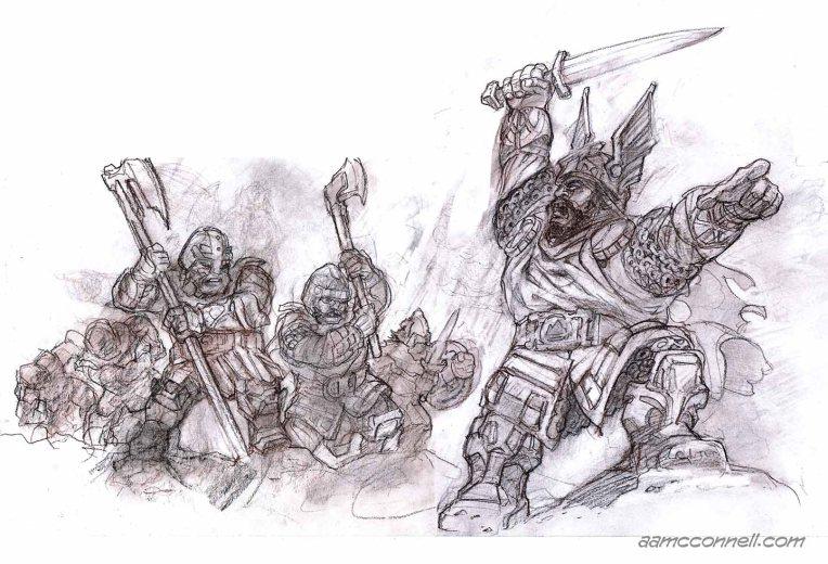 BattleCaptDwarf_Pencils