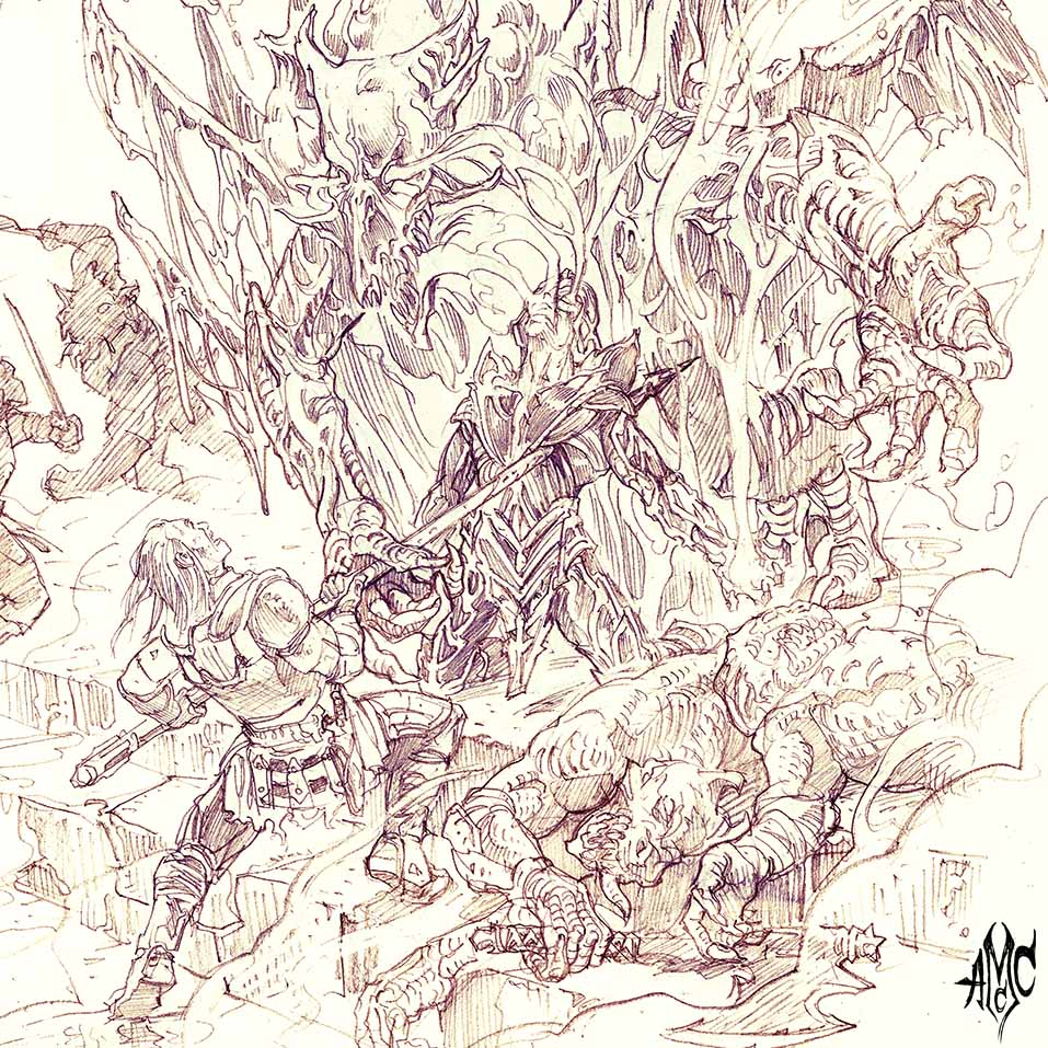 DragonMan_Pencil_2012
