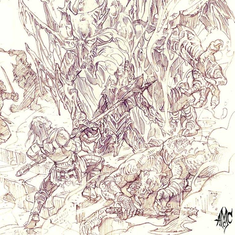 DragonMan_Pencil_2012