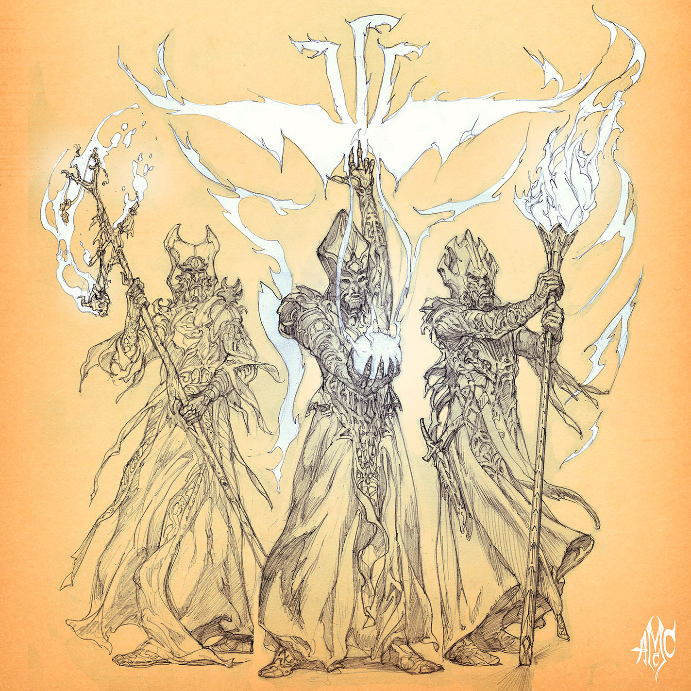 The3Sorcerers_Pencil
